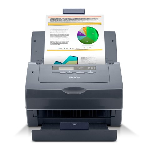 Epson GT-S50 A4 25ppm Duplex Sheetfed Colour Document Scanner
