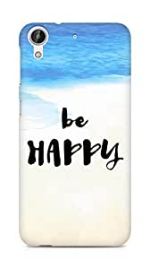 AMEZ be happy Back Cover For HTC Desire 626 G Plus