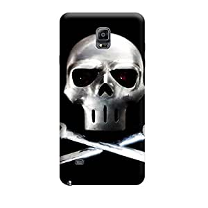 Ebby Premium Printed Back Case Cover With Full protection For Samsung Galaxy Note 4 (Designer Case)