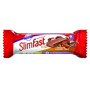 Amazon.com: Slim Fast Chocolate Caramel Snack Bar 26g (Box of 24 ...