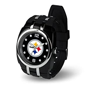 Brand New Pittsburgh Steelers NFL Crusher Series Mens Watch by Things for You
