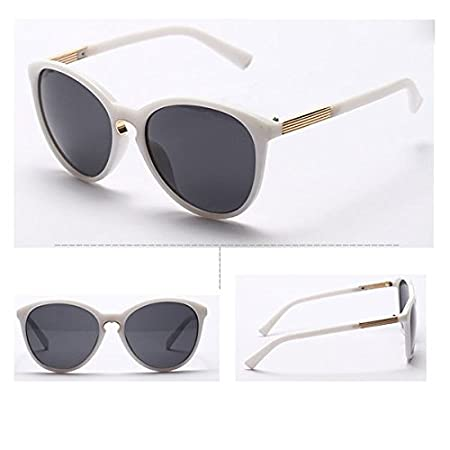 Womens Vintage Oversized Cats Eye Sunglasses
