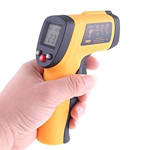 Non-Contact LCD IR Infrared Digital Thermometer Laser Point