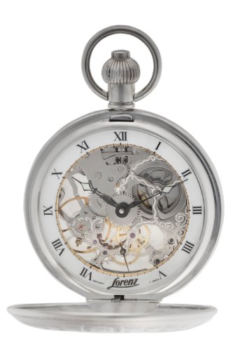 Lorenz Men's 016879AF Exhibition Pocket Watch