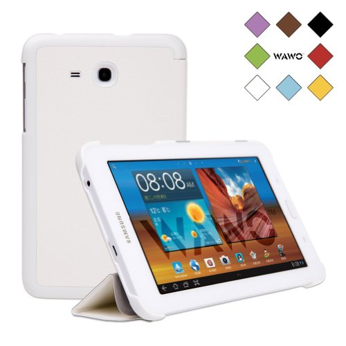 WAWO Samsung Tab 3 Lite 7.0 Inch Tablet Fold Case Cover - white