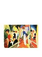Especial Arte Lienzo Negozio di cappelli - Macke August Multicolor
