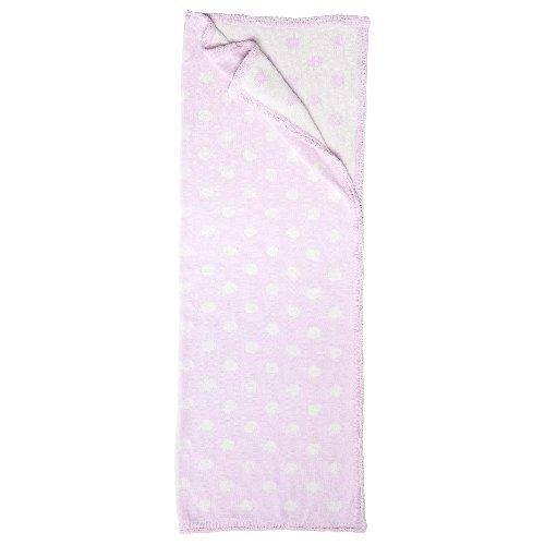 Blanket. Dot. Pink. 30x40. - 1