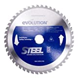 Evolution 180BLADE-ST 36 Teeth 3900 rpm TCT Metal-Cutting Blades with 20 mm Arbor, 7