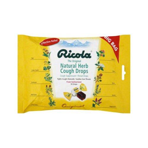 Ricola Cough Drops - Original Herb - 50 Pack