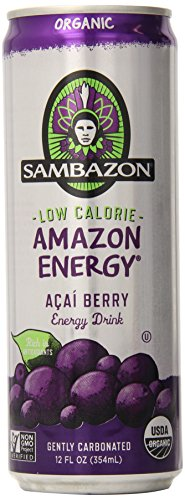 SAMBAZON Amazon Energy Diet, 12-Ounce Cans (Pack of 24)