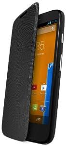 Motorola Flip Shell for Moto G - Retail Packaging - Black