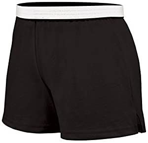 Soffe Juniors Athletic Short, Black, Small