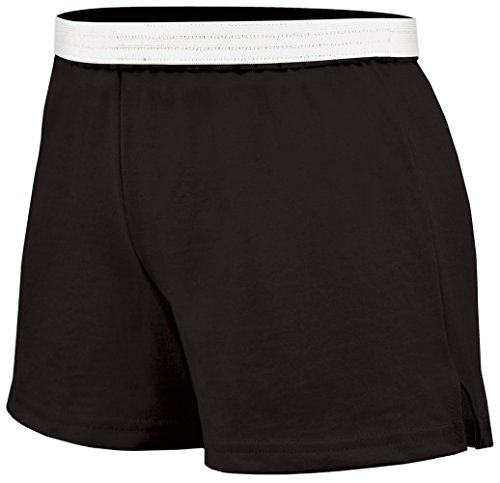 Soffe Juniors Athletic Short, Black, Medium Black Cheer Shorts