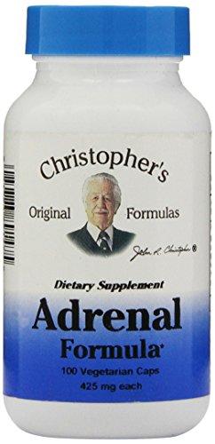 Dr. Christopher'S Original Formulas Adrenal Formula Capsules, 100 Count