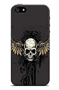 GeekCases Skull Wings Back Case for Apple iPhone 5/5S