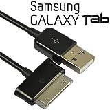 "CABLE CARGA-DATOS USB NEGRO COMPATIBLE PARA SAMSUNG GALAXY TAB 2 7.0 10.1 TAB 7.0 7.0 PLUS 7.7 8.9 10.1 CARGADOR - Envio URGENTE ""MRW"""