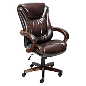 lane big and tall office executive chair 100