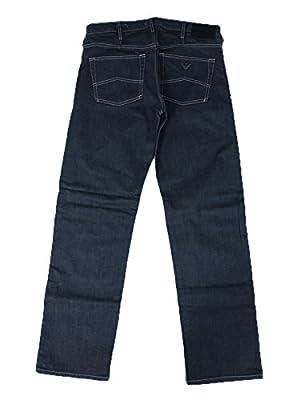 Armani Jeans Grey Clean Dark J21 Regular Fit Jeans