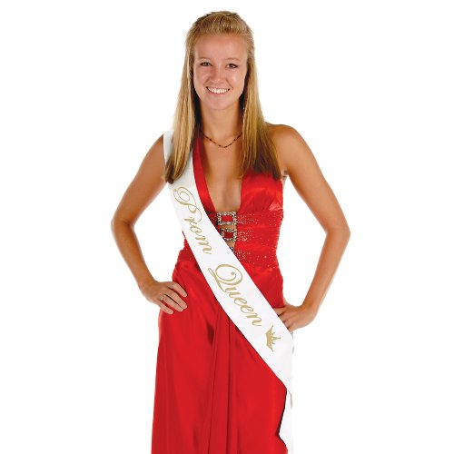 Beistle-Prom-Satin-Sash-33-Inch-by-4-Inch-Queen