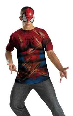 Spiderman Alternative 42-46 Costume Item - Disguise