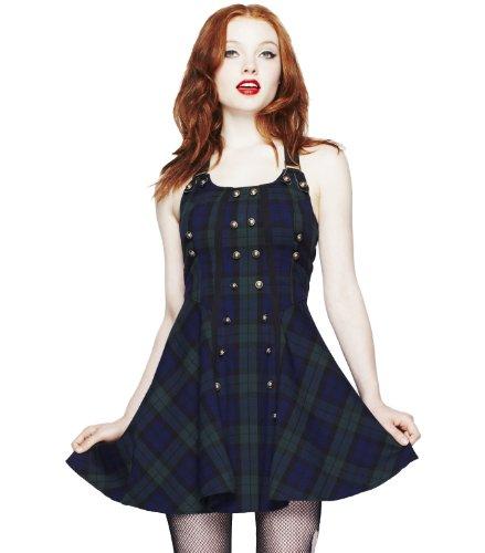 Hell Bunny Green Rock Dress XL - UK 14 / EU 42