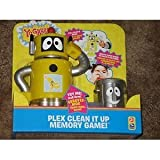Yo Gabba Gabba Plex Clean It Up Memory Game
