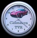 TVR Chimaera Red Car Wall Clock