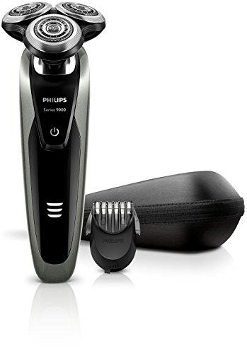 Philips S9161/41 Shaver Series 9000 Elektro Nass- und Trockenrasierer, silber thumbnail