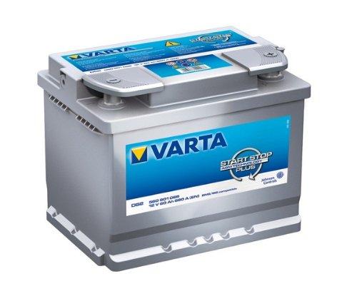 VARTA START-STOP PLUS AUTOBATTERIE D52 12V 60AH