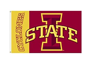 Buy NCAA Iowa State Cyclones 3-by-5 Foot Flag with Grommets by BSI