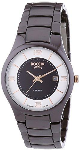 Boccia Ladies'Watch XS Analogue Quartz 3196-06 Ceramic