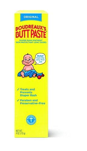 Boudreaux's Butt Paste Diaper Rash Ointment, Original, 4 Ounce