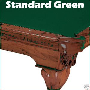 Standard Green Mali 865 Bumper Pool Table Cloth Felt