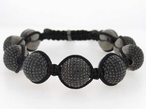 Designer Hip Hop Men's Ball Bracelet Italian