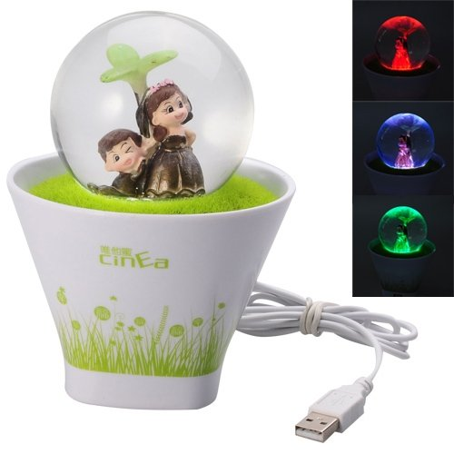 Colorful Led Touch Sensor Usb Night Lamp With Usb Hub By Tjspecia
