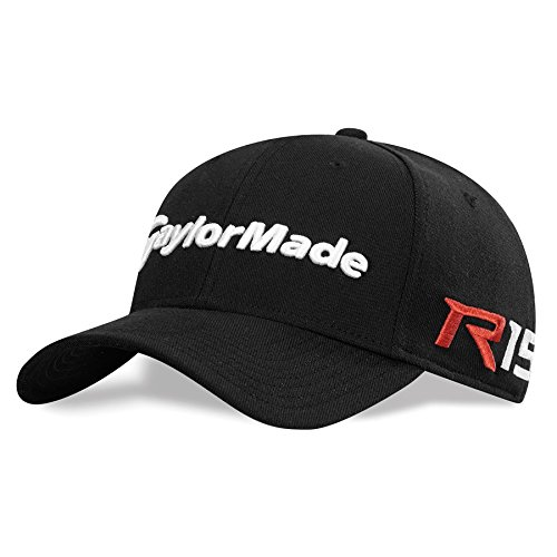 NEW TaylorMade R15/Aero Burner New Era 39 Thirty Black Fitted M/L Hat/Cap (Fitted Hats 39 compare prices)