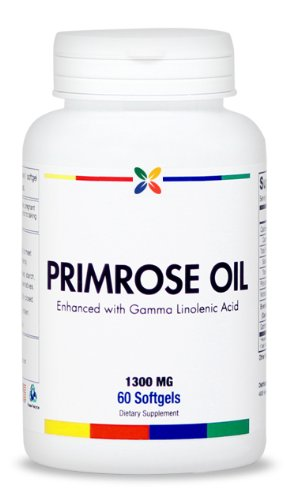 Evening Primrose Oil - 1300 Mg. Premium Grade | 60 Softgels. Made In The Usa. (3 Pack ($12.95 Per Bottle))