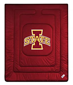 Iowa State University Comforter Size: Full Queen by Kentex