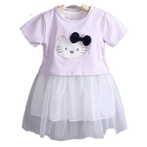 ftsucq-baby-little-girls-cartoon-dress-two-pieces-with-shirtpurple-120