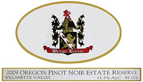 2009 Wetzel Estate Pinot Noir Estate Reserve 750 Ml
