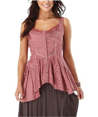 Joe Browns Women's Enchanted Button through Waistcoat Dusky Pink (8)