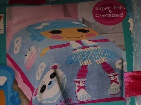 "Lalaloopsy Blanket - 62"" x 90'"