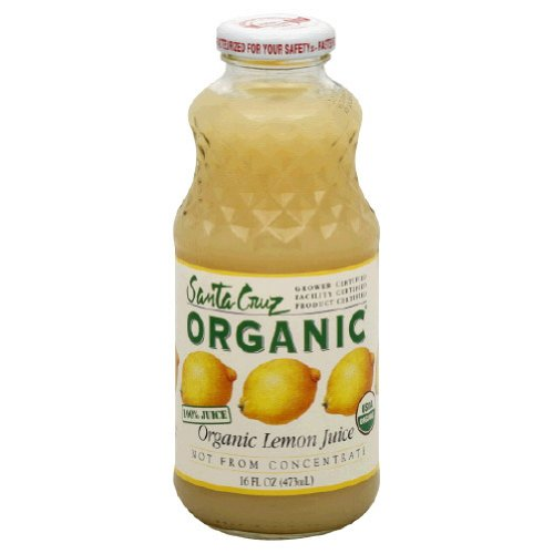 Santa Cruz Organic Organic 100% Lemon Juice ( 12x16 OZ)