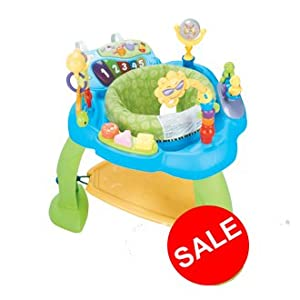 Baby Bounce Entertainer With Musical Detachable Tray Toys