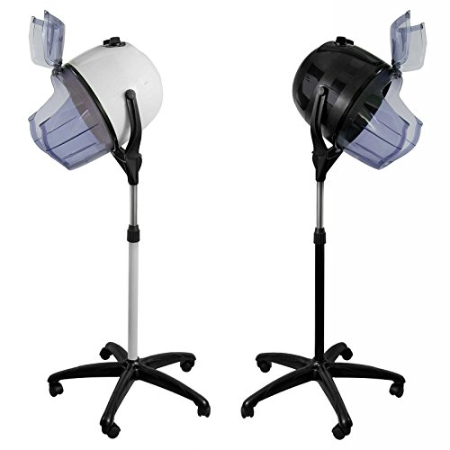 Salon Sundry Professional Bonnet Style Hood 1,000 Watt Salon Hair Dryer - White (Hair Dryer Stand Professional compare prices)