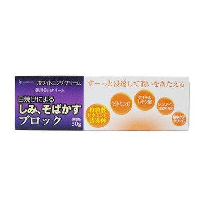 美白 クリーム 薬用 30g