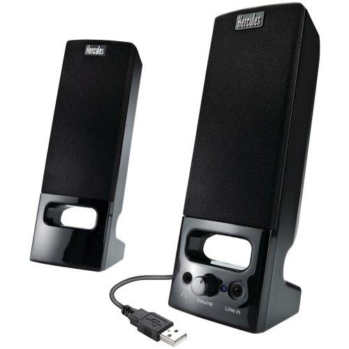 Hercules 4780643 XPS 2.0 35 USB Multimedia Speakers