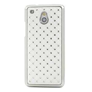 White Starry Sky Diamond Plated Hard Case for LG Google Nexus 5 D821