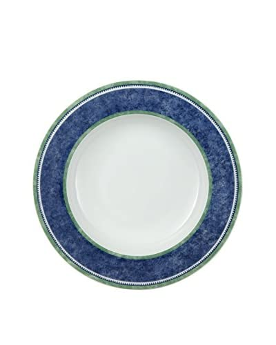 Villeroy & Boch AG Set Plato Hondo 6 Uds. Switch 3 Costa 23 cm Blanco/Azul/Verde
