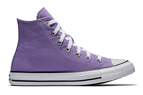 Converse Unisex Mens Chuck Taylor All Star Hi Top Seasonal Fashion Sneaker Shoe, Frozen Lilac, 5.5